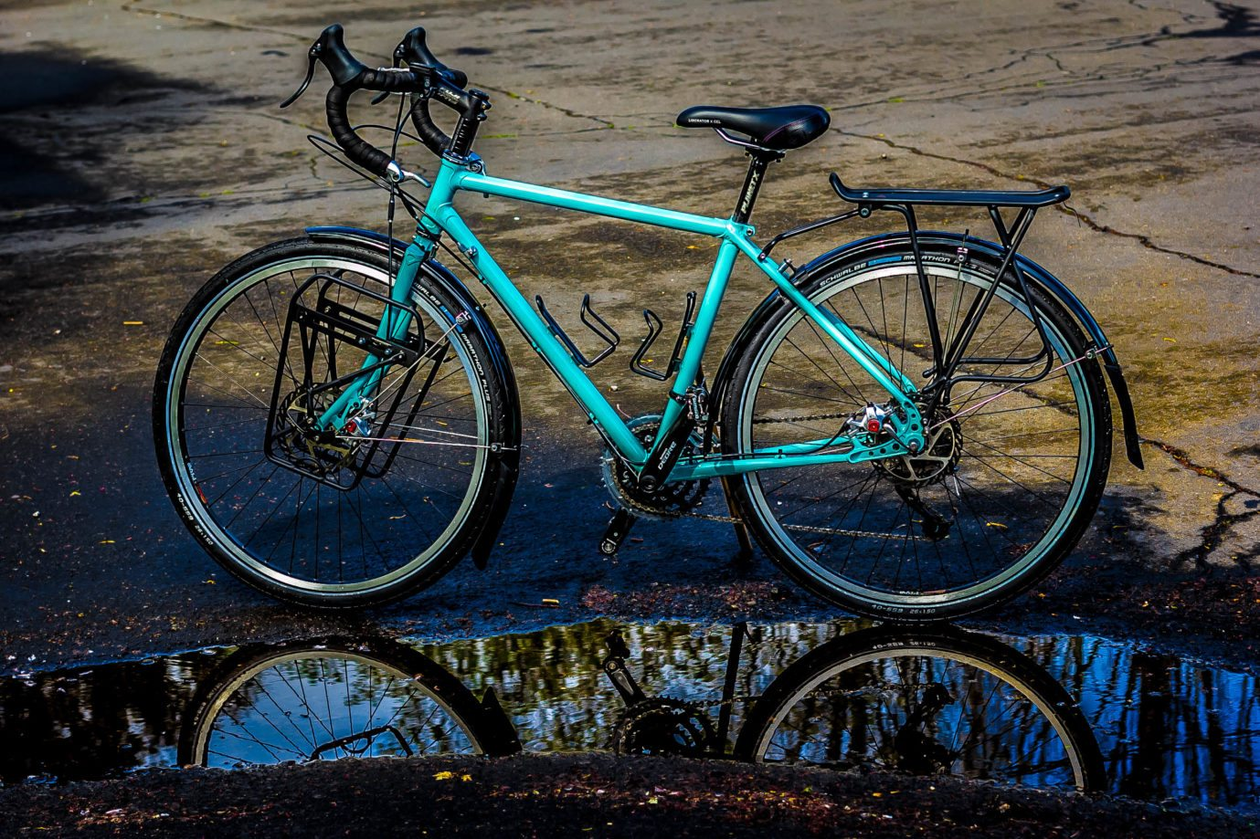 Women's Cycle Touring Bike