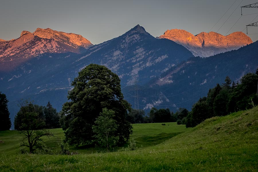 The Best and Worst of Cycle Touring Austria - Sunset