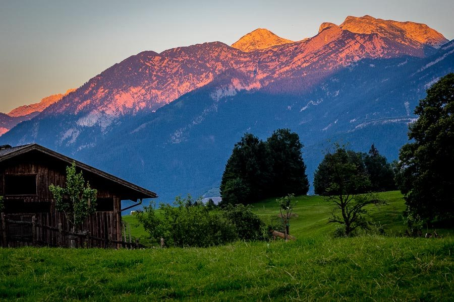 The Best and Worst of Cycle Touring Austria - Sunrise