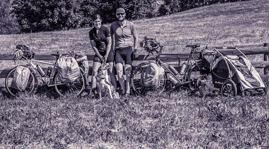 The Best and Worst of Cycle Touring Austria - Long Haul Trekkers Family Photo