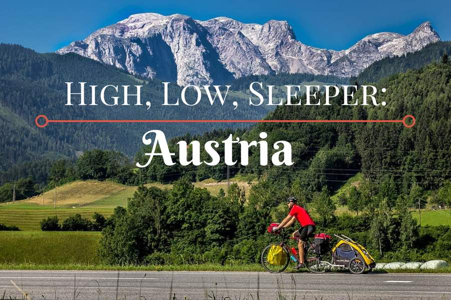 The Best and Worst of Cycle Touring Austria - Header