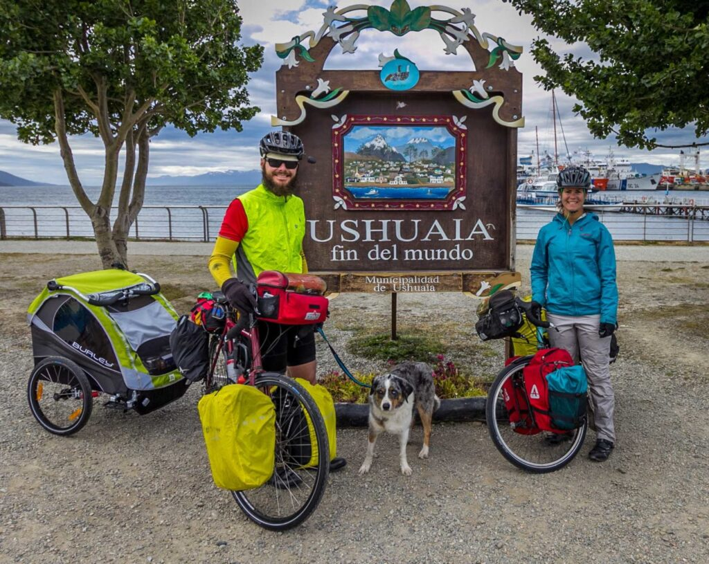 Thoughts on Cycle Touring Southern Patagonia, End of the World in Ushuaia