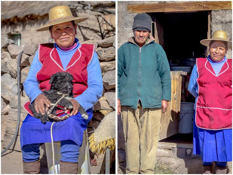 Cycling, Culture, and Quinoa - Aymara people