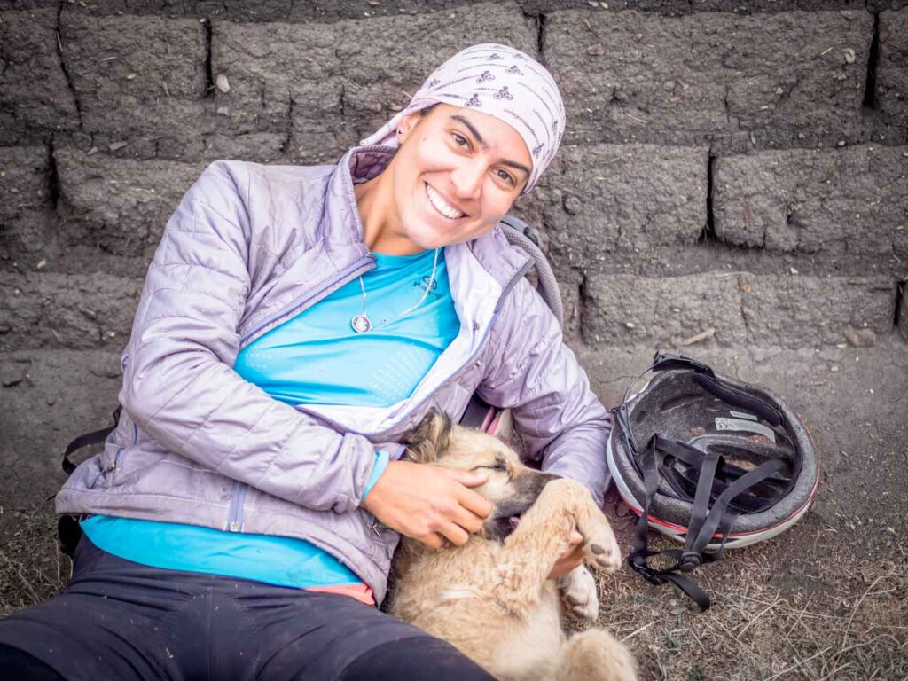 Street Tails: Flavia and Tupac | Long Haul Trekkers