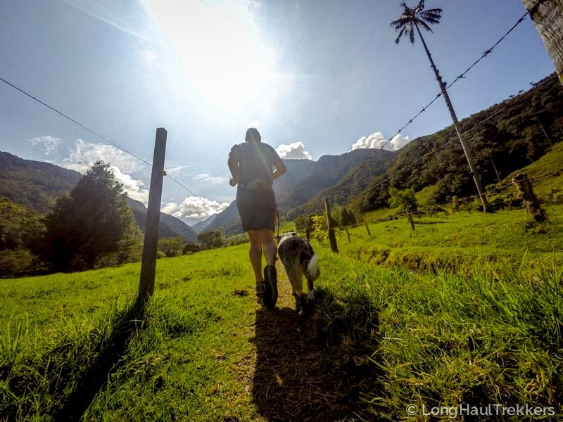 Trekking the Valle de Corcora near Salento Colombia | Long Haul Trekkers