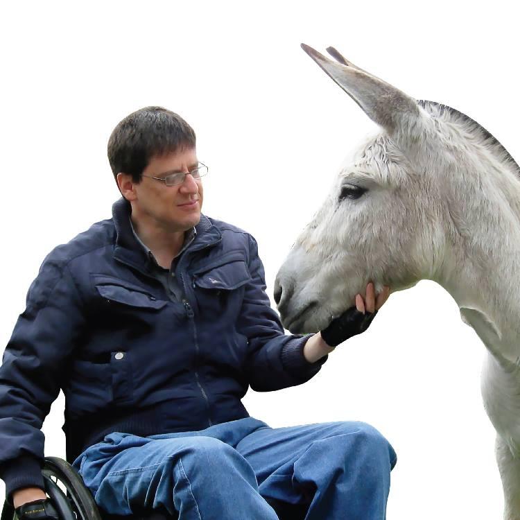 Street Tails: Alvaro Munera and Esperanza. Alvaro with his donkey, Dulcinea. | Long Haul Trekkers