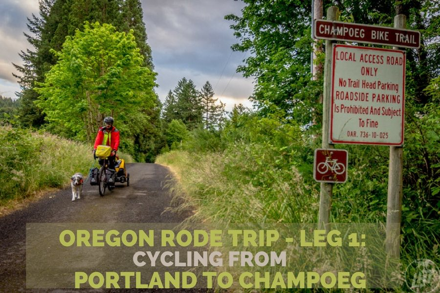 Oregon Rode Trip - Leg 1: Portland to Champoeg   Long Haul Trekkers