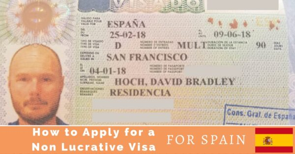 How to Apply for a Visa for Spain from the USA - Long Haul