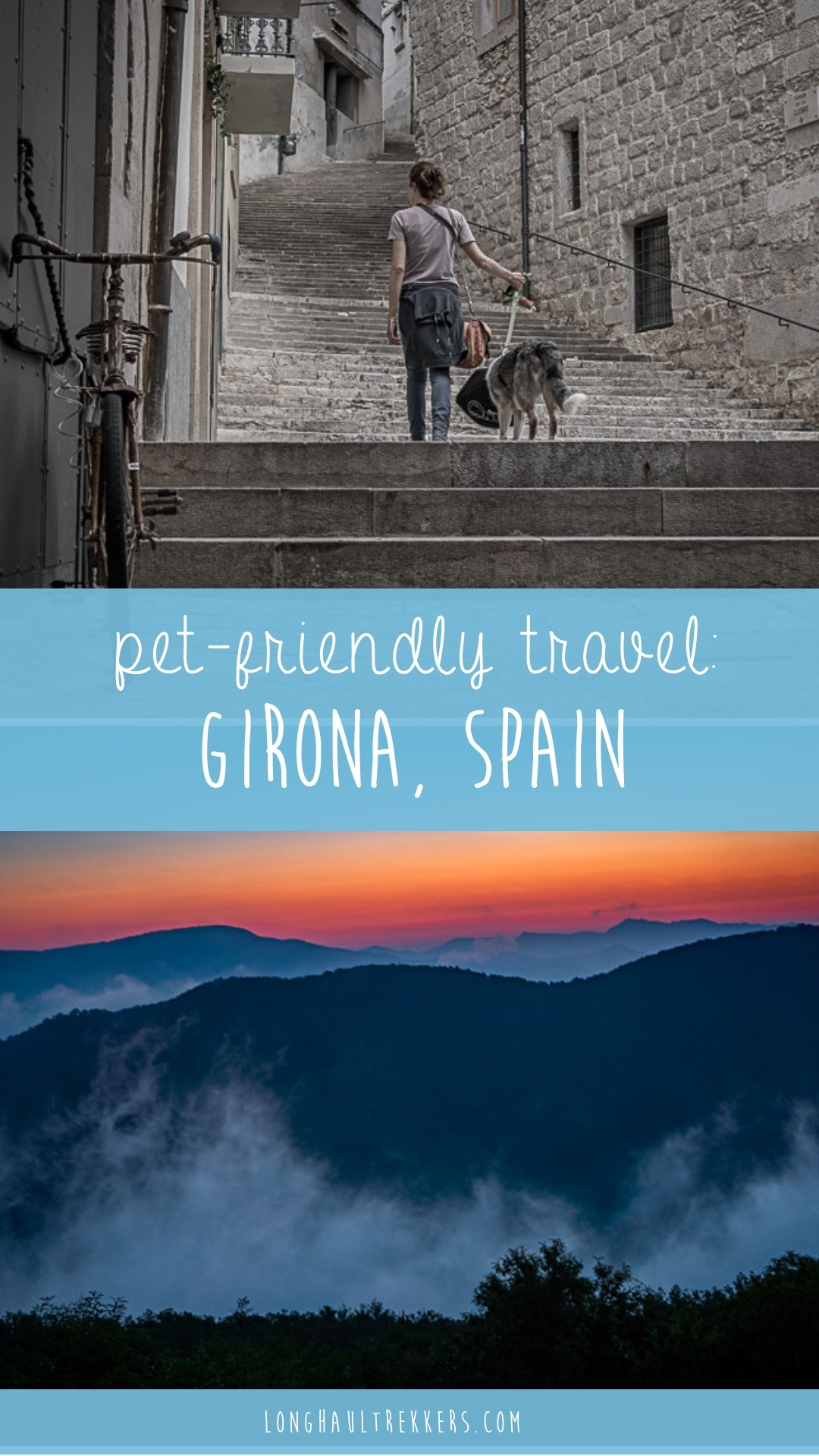 With its temperate weather, loads of cafes, and plenty of outdoor activities, visiting Girona with a dog is easy. We share some of our favorite spots to hit.