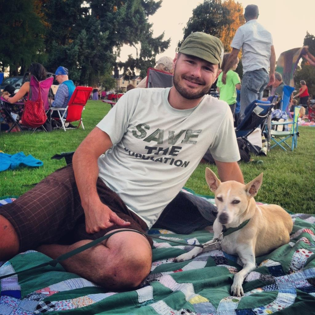 Enjoy Movies in the Park during the summer months in Portland.