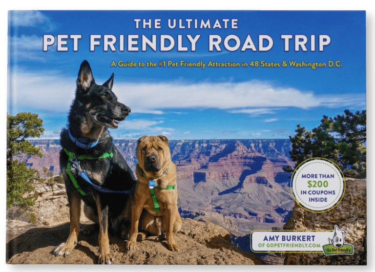 Get your copy of the Ultimate Dog-Friendly Road Trip at GoPetFriendly.com