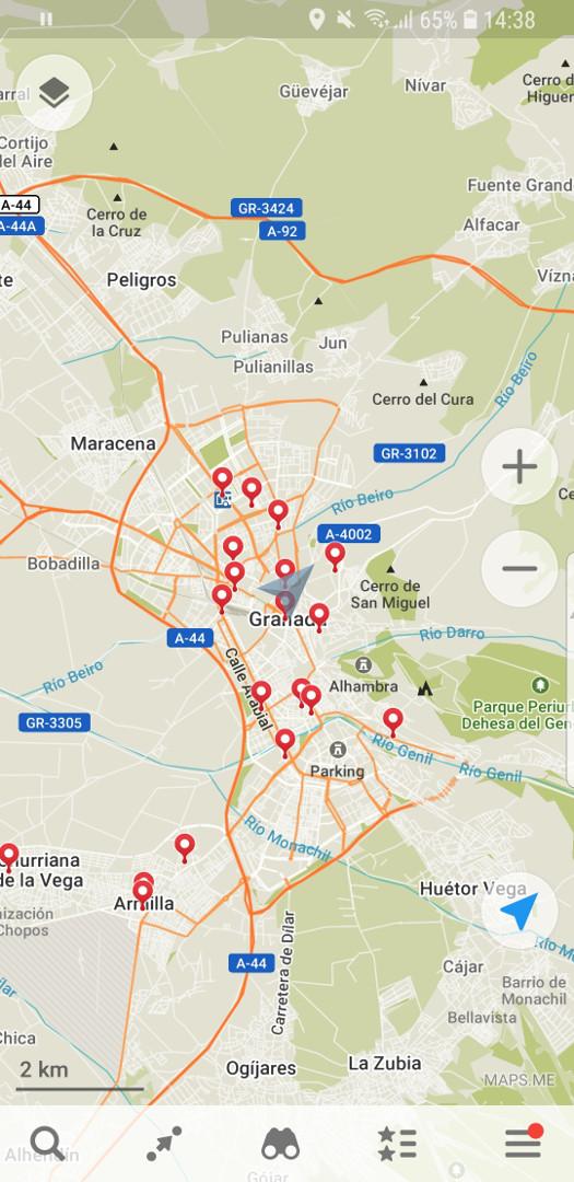 Maps Me Review App Home