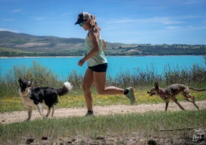 Our go-to trail running gear for dogs and humans.