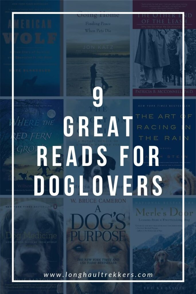Great Books for Dog Lovers Pinterest Image