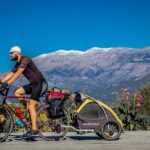 Bike tour with your senior dog