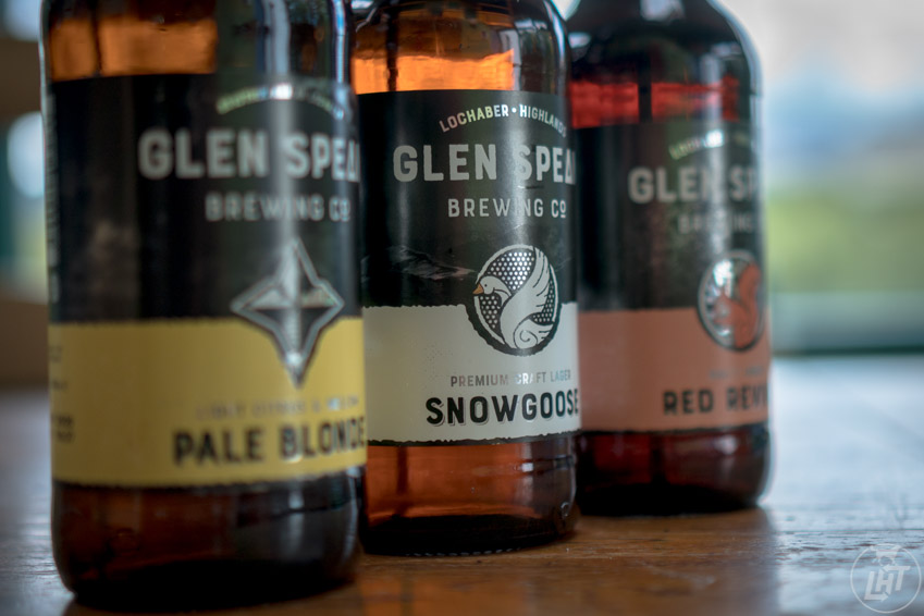 Glen Spean Brewing in the Scottish Highlands.