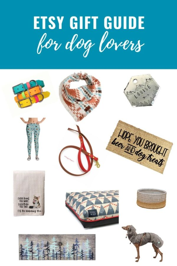 Etsy Gift Guide for Dog Lovers