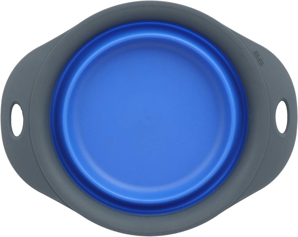 Dexas collapsible bowls are great for food and water at camp