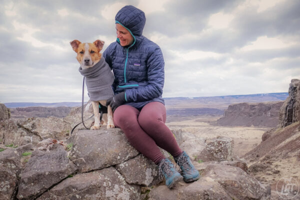 Jen and Sitka, the team behind Long Haul Trekkers