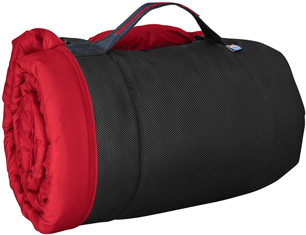 The Kurgo Wander Loft Dog Bed is a favorite for camping with dogs