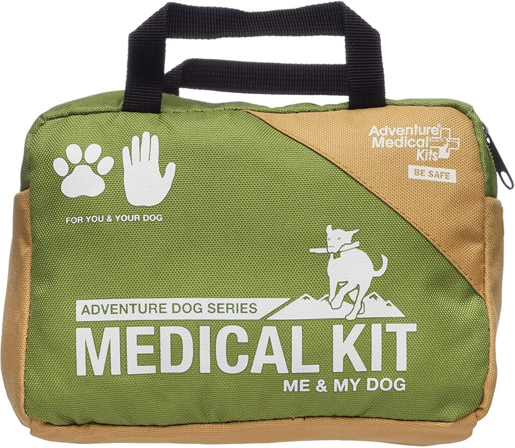 Don't forget to pack a first-aid kit as part of your dog camping gear essentials
