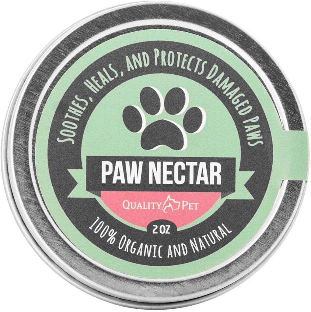 Quality Pet Paw Nectar is a vegan alternative to Musher's Secret.