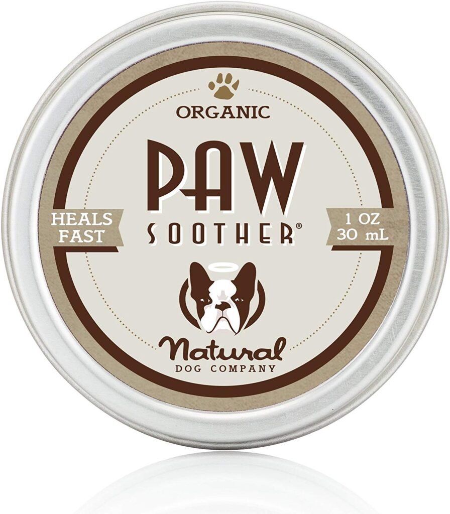 Natural Dog Company uses a holistic formula to create their paw wax.