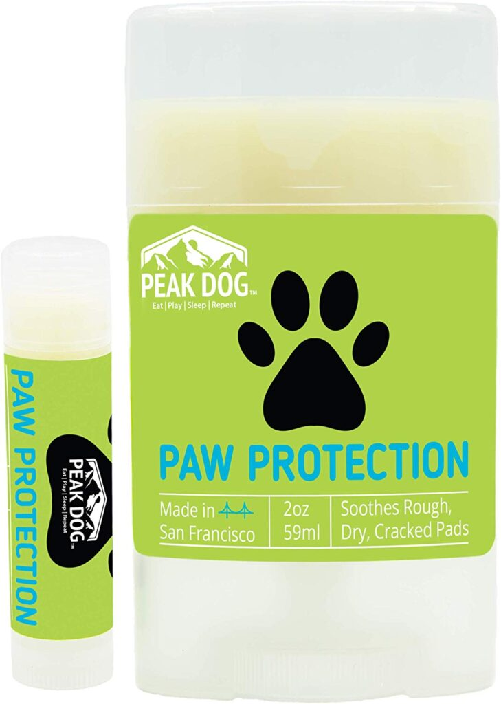 Peak Dog Paw Protection is made in small batches and veteran-owned.