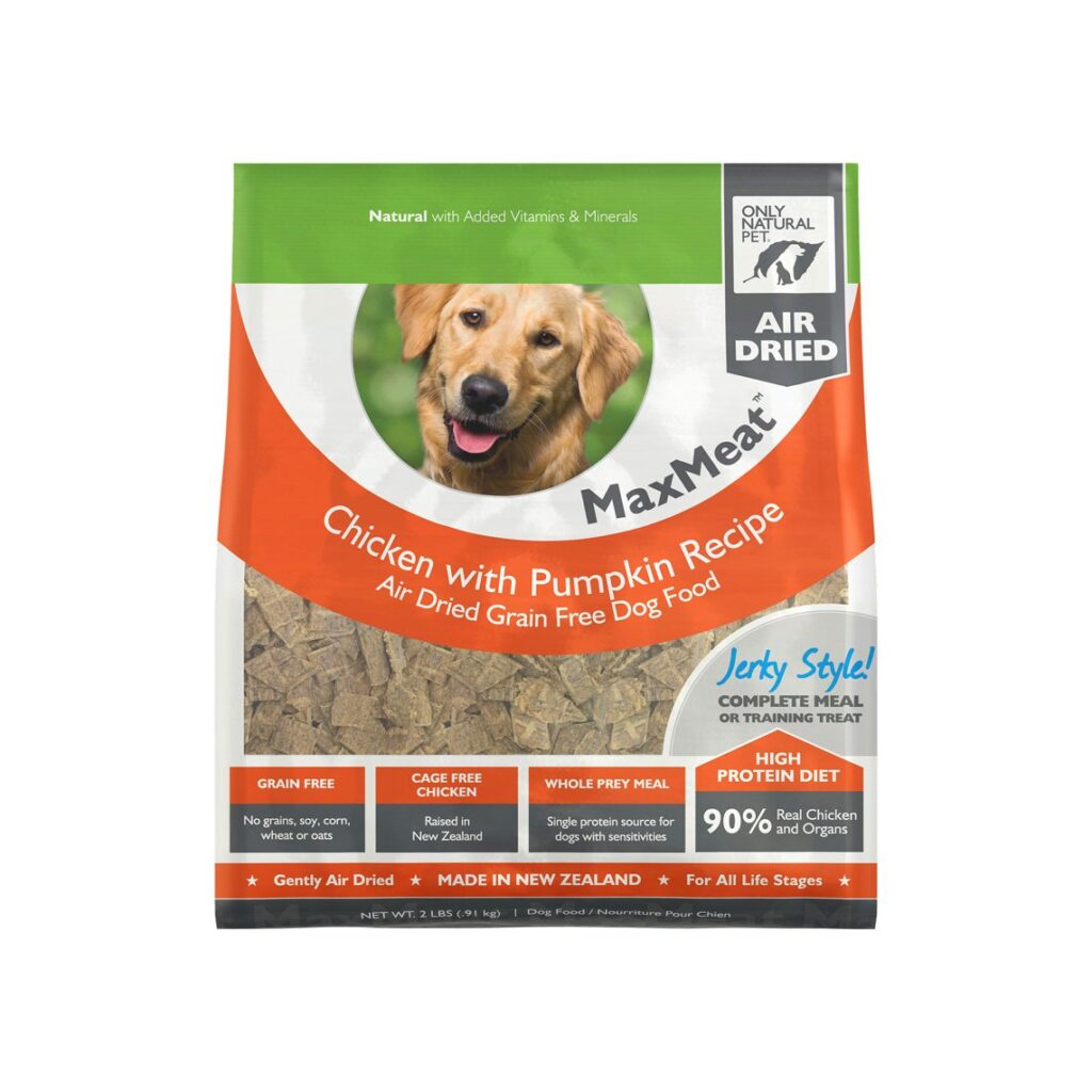 Only Natural Pet MaxMeat Air-Dried Dog Food