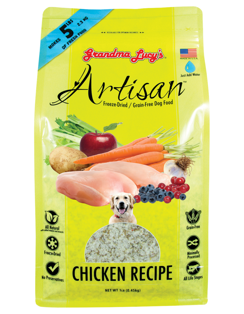 Grandma Lucy's Freeze-Dried Dog Food