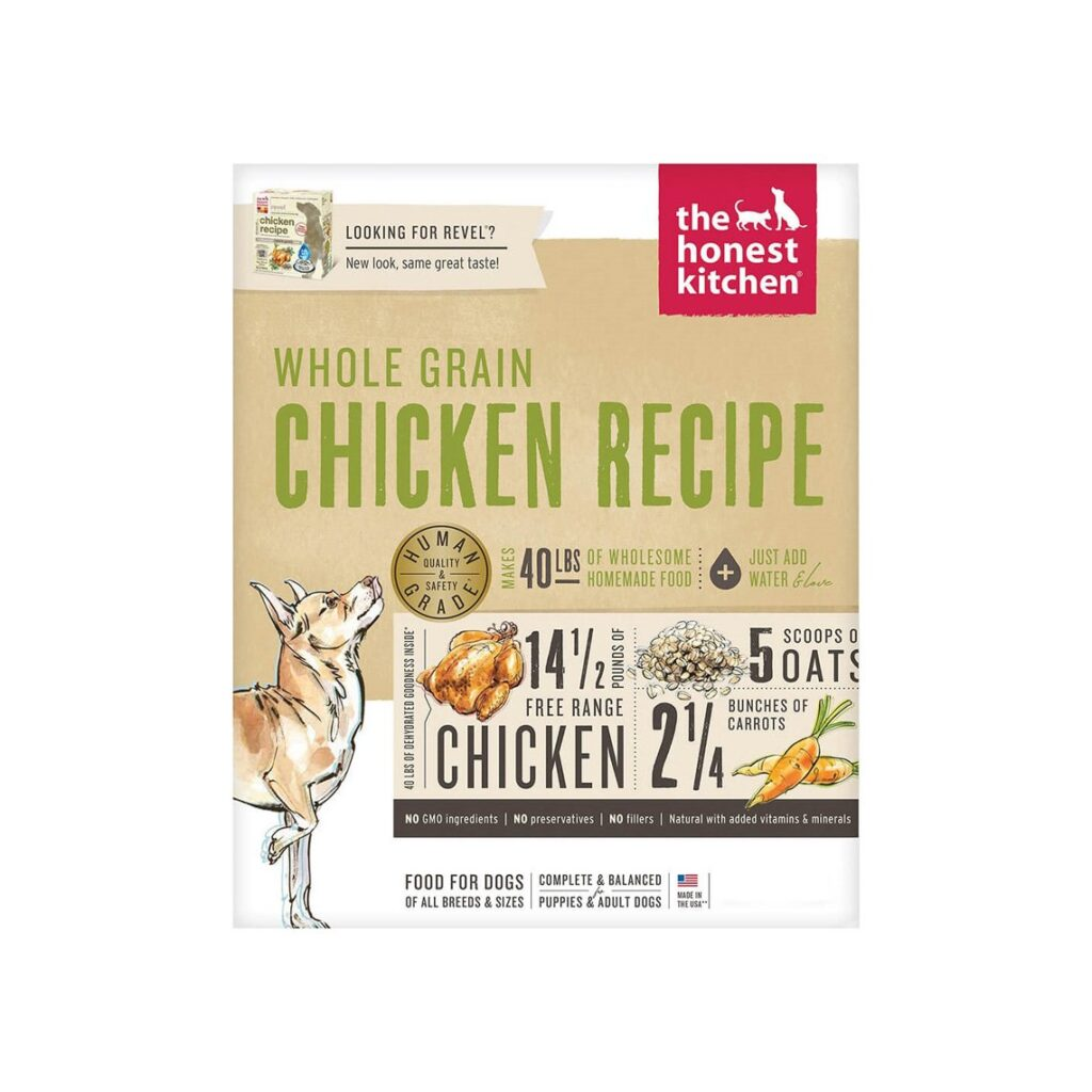 Honest Kitchen Whole Grain Dehydrated Dog Food
