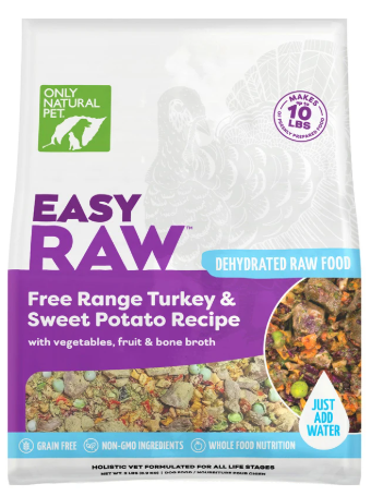 Only Natural Pet EasyRaw Dehydrated Dog Food