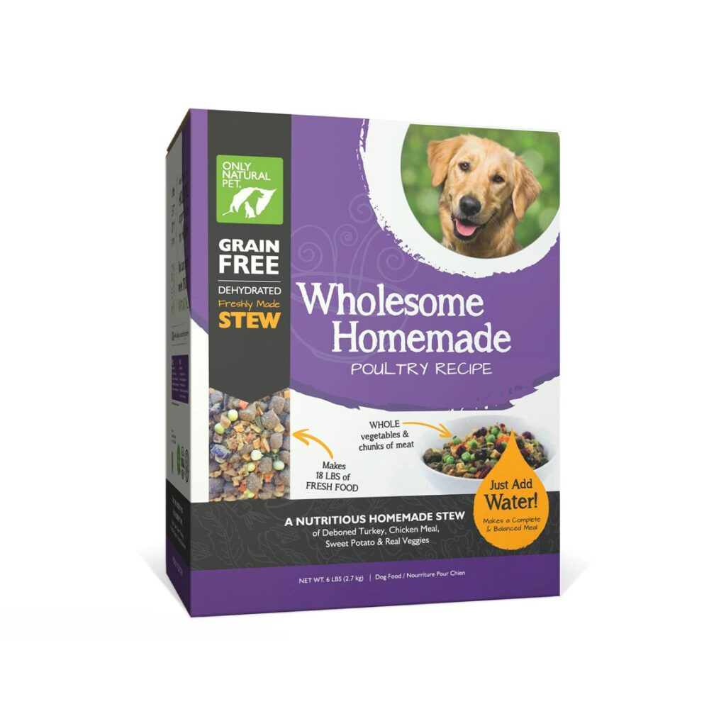 Only Natural Pet Wholesome Homemade Dehydrated Dog Food