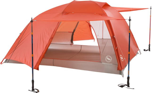 The Big Agnes Copper Spur HV UL3 is the best overall tent for camping with dogs.