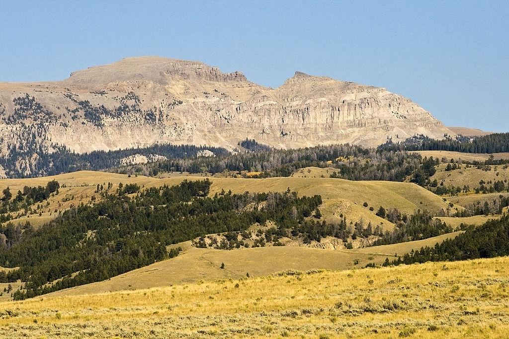 Sheep Mountain is a dog-friendly hike near Jackson Hole, Wyoming.