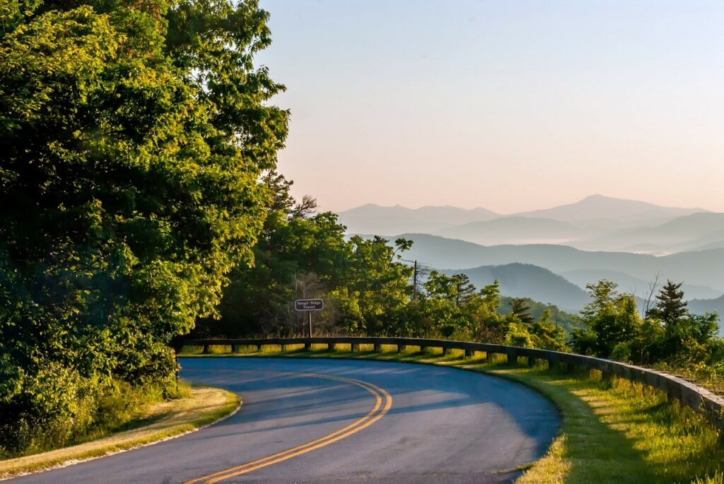 A drive along the Cades Cove Loop Road is a great dog-friendly activity in Great Smoky Mountain National Park
