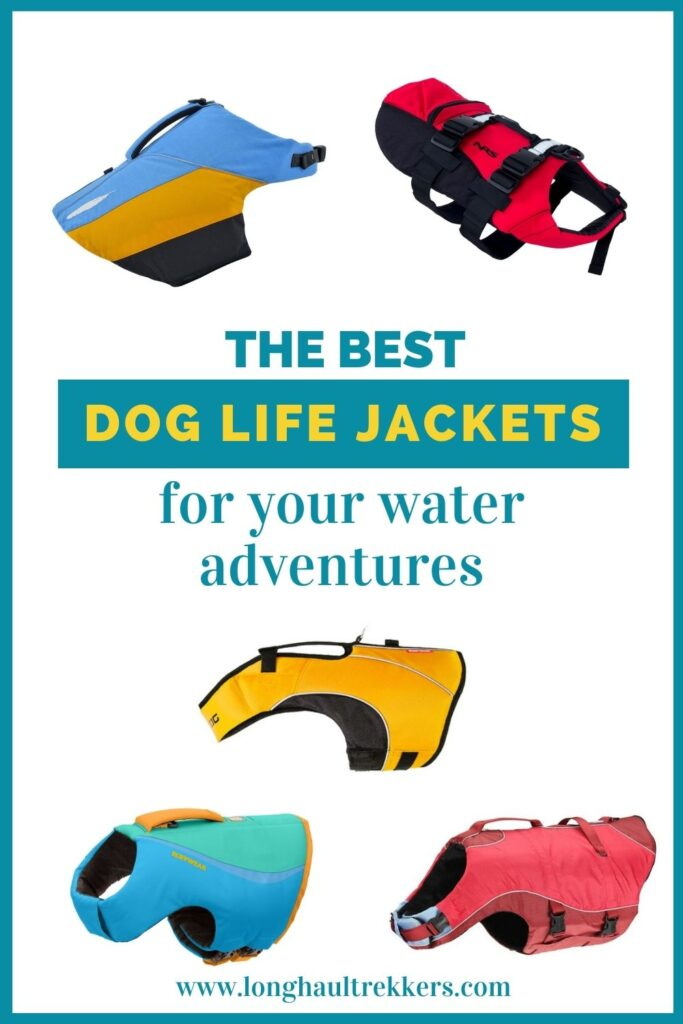 Best Life Jackets for Dogs Pinterest Image