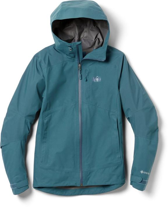 Stay dry and warm with the REI co-op XeroDry GTX jacket from the REI Labor Day Sale.